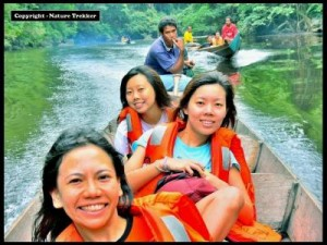 River Cruise at Taman Negara